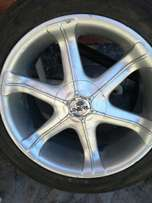 20inch Rims and tyres