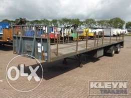 Broshuis Extendable Steeraxle Payload 28 - To be Imported