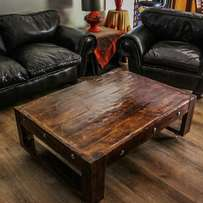 Hand made coffee table made on the demand