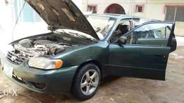 A sound buy and drive Toyota Corolla car with sound engine