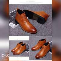 Confirm leather shoe