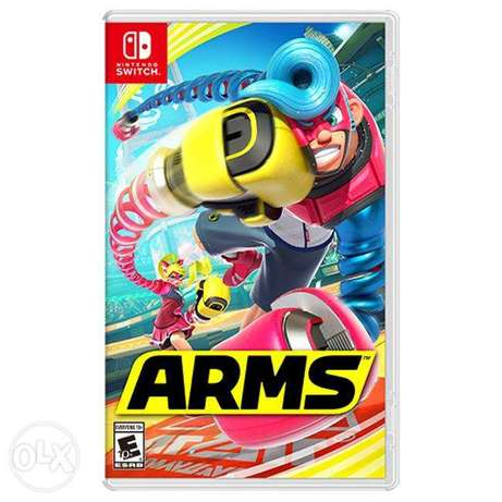 Arms Nintendo Switch (New!)