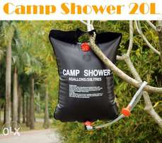 20Litre Shower Pipe Bag -Solar Energy Heated for Sport Camping