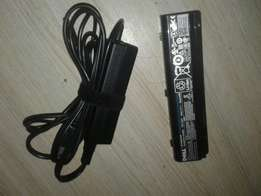 Original Dell laptop charger and battery