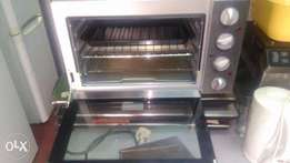 Mini oven with cooker