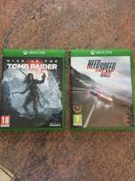 Rise of the Tomb Raider + Need for speed Xbox One