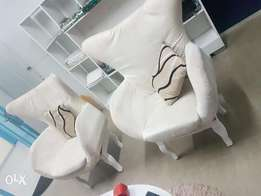 2 clean chairs for sale