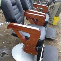 Barber chairs and salon srats.