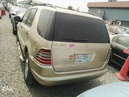 Neatly Used First body Mercedes-Benz ML320