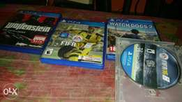 Ps 4 games make ur choice