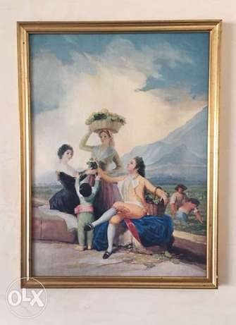 Goya Oil painting Replica on canvas