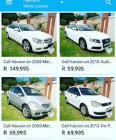 Call Haroon on Over 100 cars