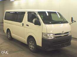 Toyota Hiace pearl white fully loaded