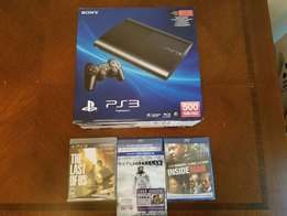500gb playstation 3 brand new and 15 games free chipped