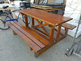 Patio bench: 6 seater - New