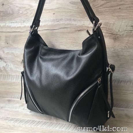 316c4659dc96 Женская Итальянская кожаная сумка рюкзак Vera Pelle Одесса - изображение 2