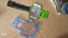 Exercise phone pouch