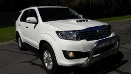2014 Toyota Fortuner 3.0D-4D 7-SEATER MANUAL for sale