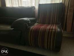 Sythetic leather, 6 seater