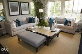 Sutter Sofa set with center table
