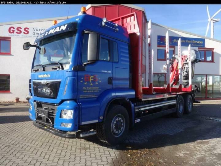 MAN TGS 26.500 6x4H-4BL Kurzholz - 2016