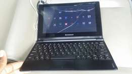 """Lenovo IdeaPad A10 10.1"""" crack screen android & touch no sim wifi only"""