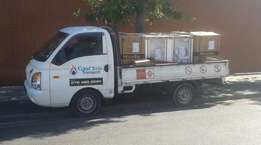 h100 Bakkie and driver for hire