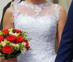 21af622756 1 000 zł. Obserwuj. Biała suknia ślubna