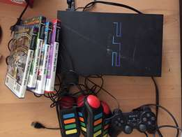 Playstation 2 plus accessories