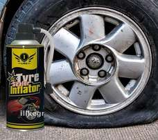 TIRE SEALANT and inflator
