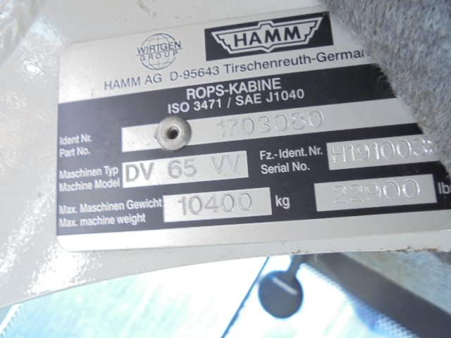 Hamm DV 65 VV - 2008 - image 13
