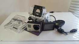 GoPro Hero 3 Black Edition with Remote and LCD bacpac