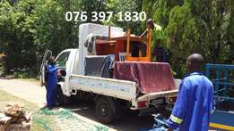 Furniture removals bakkie for moving