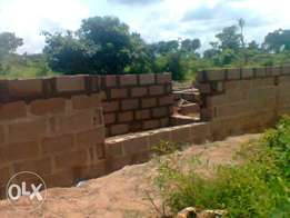 A 3 rooms, a shop and a 3 uncompleted self-contained for sale