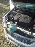 Auto A/c refill and repairs in all car models