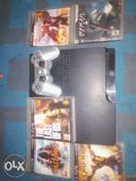 ps3 slim + last of us, uncharted 3, killzone3 and gow ascension 4 sale