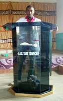 Stained glass podiums 12500/=