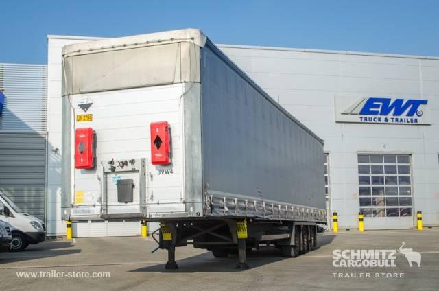 Schmitz Cargobull Semitrailer Curtainsider Mega - 2012