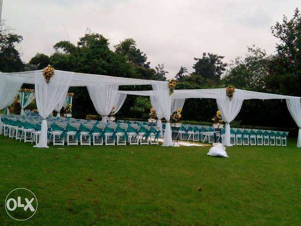 Dome tents,Hexagons,stretch tents,Chiavaris, foldable seats for Hiring Utalii - image 5