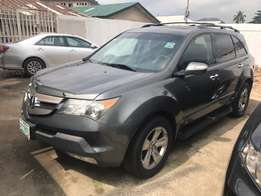 Super Clean Grey 2007 Acura MDX AWD