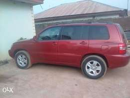 Direct tokunbo toyota highlander