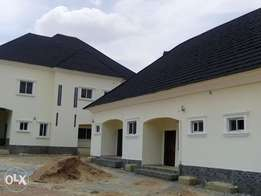 6bedroom duplex with 2 and 1room bungalow at fo1 kubwa