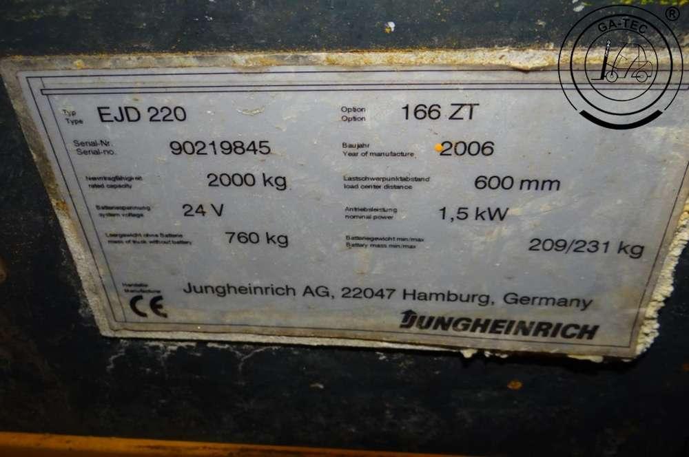 Jungheinrich EJD220 - 2006 - image 10