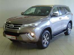 2016 Toyota Fortuner 2.8GD-6, 4x2 Auto