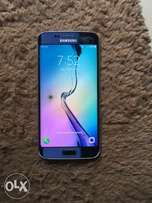 a London used Samsung s6edge(crack on the glass)