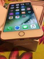 Apple iPhone 7 plus in box ,128gb,gold for sale