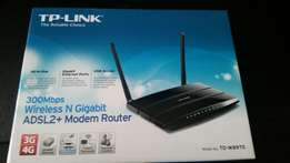 TP-Link W8970 Wireless N Gigabit ADSL2 Modem Router