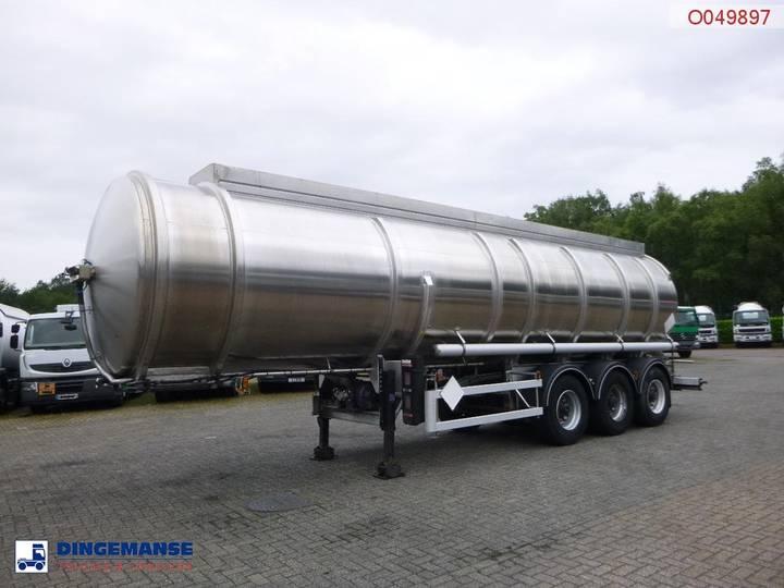 Magyar Fuel tank inox 35.3 m3 / 3 comp + pump / ADR 04/2020 - 1998