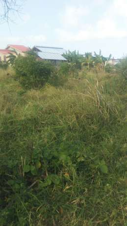 Very prime plot for sale at utange, 40ft by 80 ft Utange - image 1