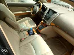 2005 used Rx 330 full option with reverse camera and accident free.